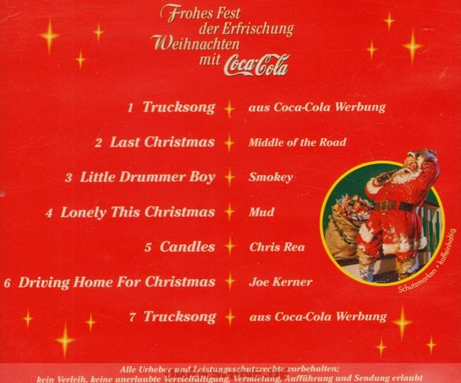 Coca Cola Werbung Weihnachten.George Michael S Discography Frohes Fest Der Erfrischung